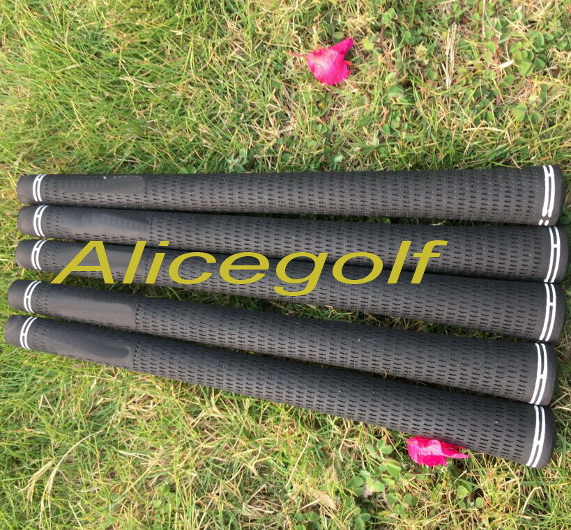 Top quality golf grips black colors golf rubbers 50/pcs DHL ship golf clubs standard grips <br><br>Aliexpress