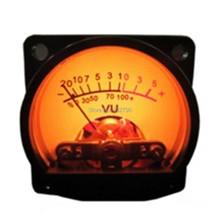 Buy Panel VU Meter Warm Back Light Recording&Audio Level Amp Vu Meter Analog Built-in 6-12V Bulb 500VU 35x35mm (L*W) Brand New for $7.14 in AliExpress store