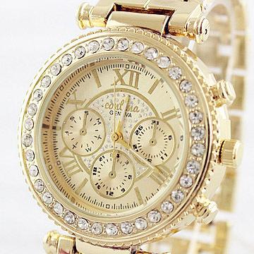 Relogio Feminino Luxury Brand Women Dress Watches Steel Quartz Watch Diamonds Gold Watches For Womans Waches(China (Mainland))