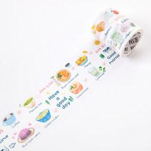 1 piezas/1 lote cintas adhesivas Washi Masking de fresa fruta decorativo adhesivo Scrapbooking DIY de papel japonés pegatinas 5 M(China)