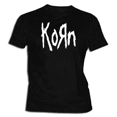 Korn T Shirt Tee XXL- XL- L M- S Sizes Metal Music Jonathan Davis(China (Mainland))