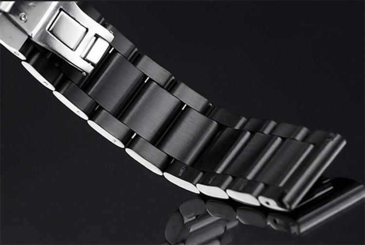 Металла нержавеющей Стали Смотреть Группы Ремешок ремешок для L-г часы R W110 W100 W150 smartwatch Высокое Качество Нового развертывания 22 мм