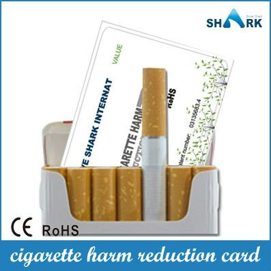 Promotion! Newest harm reduction cigarette smoking card in market modern medical stop smoking with china idea