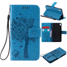 Buy Wallet Magnet Flip Cover Leather Case sFor Sony Xperia E5 case Sony Xperia E5 F3311 F3313 Coque phone shell 3D Pattern for $3.64 in AliExpress store