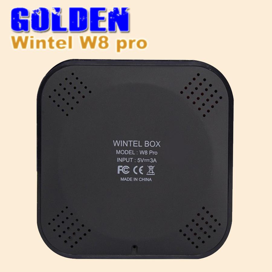 2PCS [DHL FREE]Wintel Pro CX-W8 TV Box Win10 Mini PC Z8300 4cores 2GB/32GB Bluetooth 4K*2K HDTV IPTV Smart TV W8 Pro STB(China (Mainland))