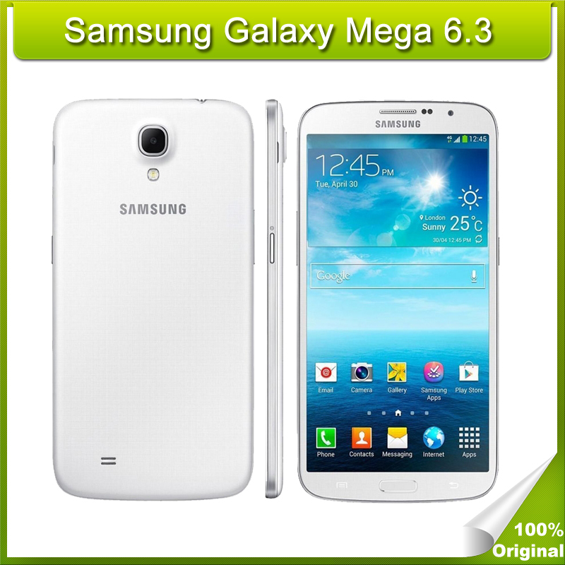 Original Samsung Galaxy Mega I9200 6 3 inch Android 4 2 Smartphone 8GB ROM WiFi GPS