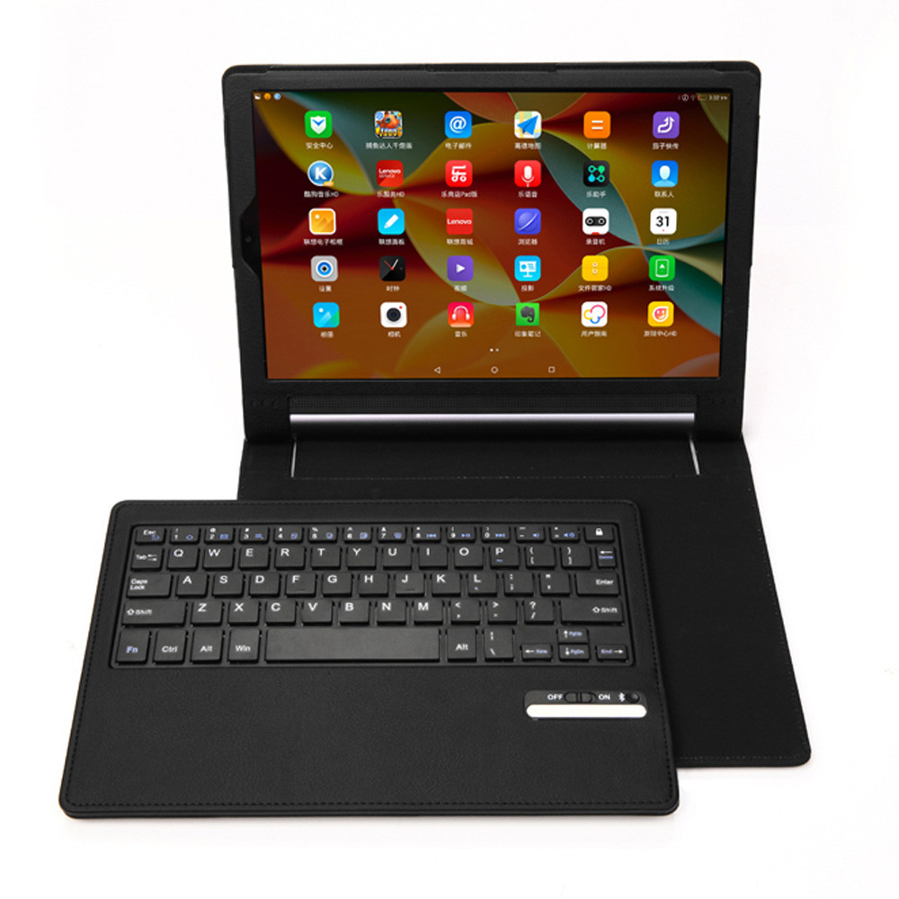 Malloom 2017 Top Sale Gaming Bluetooth Keyboard With Leather Stand Case Cover For Lenovo Yoga 3 Pro 10inch Free shipping(China (Mainland))