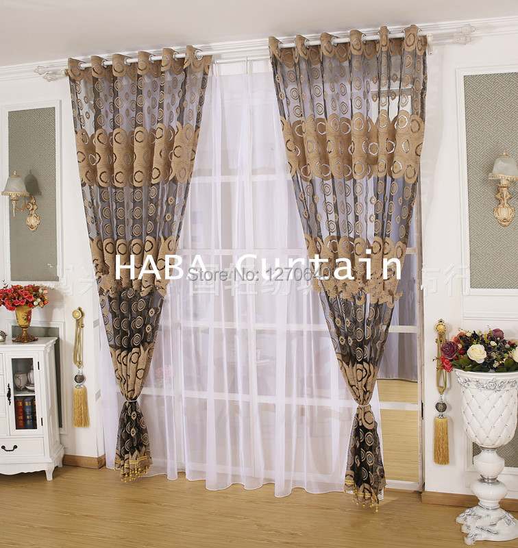 Buy 2color beautiful curtain design ideas for Curtains and drapes for bedroom ideas