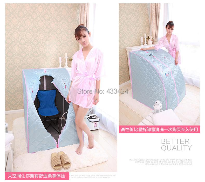 online kaufen gro handel tragbare dampfbad aus china tragbare dampfbad gro h ndler. Black Bedroom Furniture Sets. Home Design Ideas