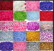 1000 pcs 16 couleurs fleur artificielle soie pétales de mariage fleurs décor décorations de fête(China (Mainland))