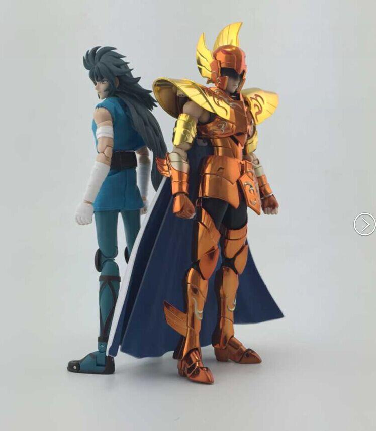 Galaxy Nebula Saint Seiya Sea Dragon Kanon GN action figure toy Myth Cloth EX Cavaleiros Do Zodiaco two body with Mufti(China (Mainland))