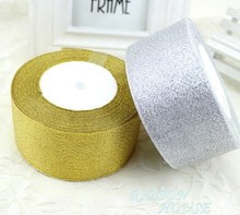 Buy Satin Ribbon 50mm 2 inch 25 Yards Wedding Silk Ribbon Party Decoration Satin Tapes Crafts Decor Gift box packing belt for $5.50 in AliExpress store