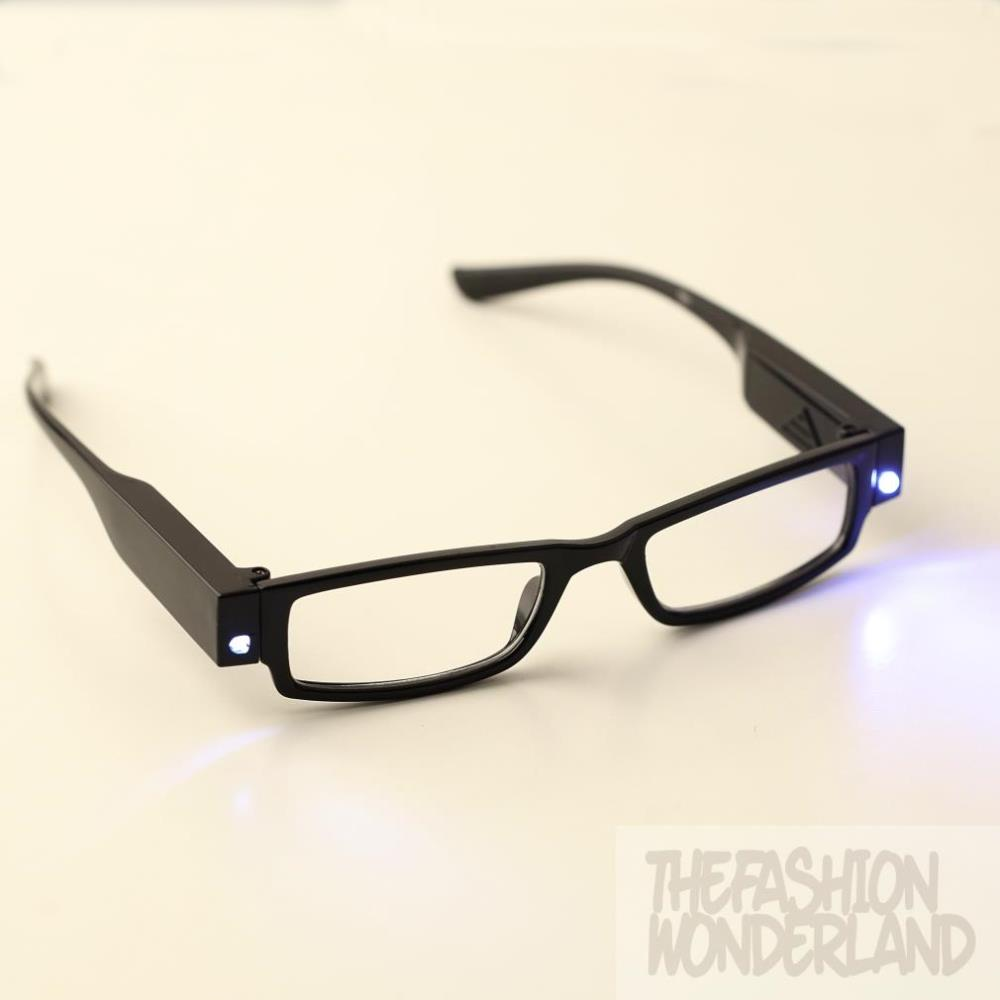 2015 Newest Design Practical LED Reading Eyeglasses Spectacle Diopter Magnifier Multi Light Up(China (Mainland))