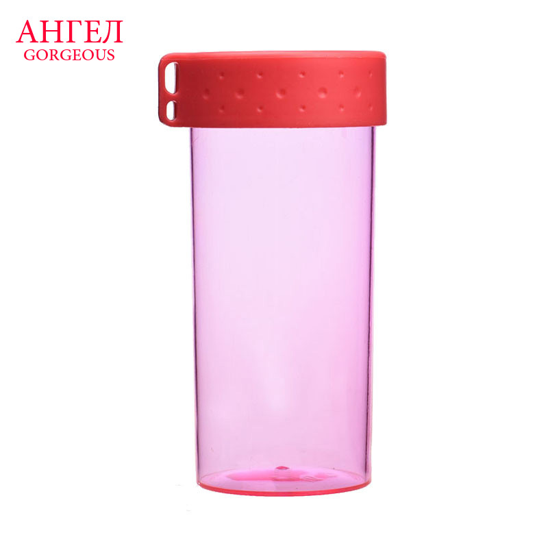 2015 HOT Sale New Colorful Candy Sand Cup Student Movement Plastic Bottles Bicycle Sports Bottle For Mountain Bike Water Bottles(China (Mainland))