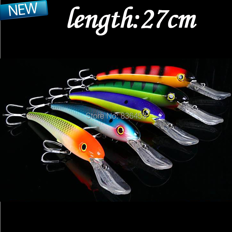 Minnow hard lure 2014 new spinnerbait big lure artificial for Big fish tackle