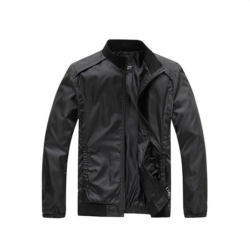 Men's Jacket 2015 New Arrival Fashion Casual Spring & Autumn Jacket 3 Colors Men Outdoors Sportswear Slim Fit Men Clothing(China (Mainland))