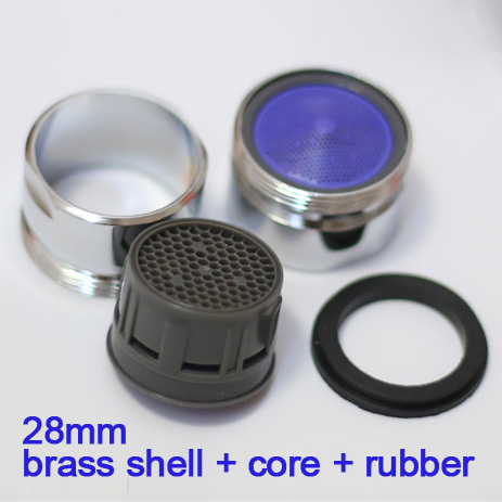 good quality 28mm*1 male thread water saving tap faucet aerator bubbler free shipping(China (Mainland))