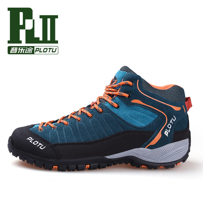mens high top sports outdoor hiking shoes for