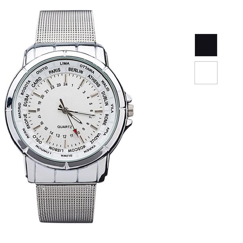 relogios masculinos 2015 Luxury Brand Watch Men Fashion Watch Quartz Business Casual Wristwatch Full Steel Men
