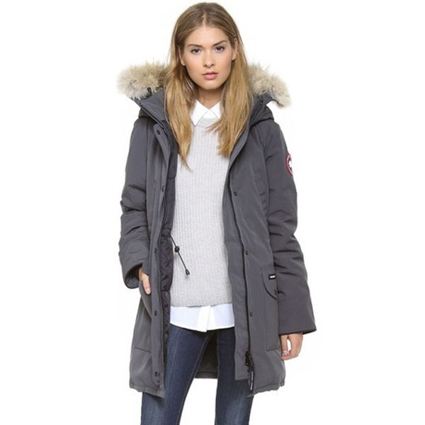 Ladies Grey Parka Coat - Coat Nj