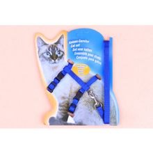 Durable Nylon Pet Cat Kitten Adjustable Harness Lead Leash Collar Belt Safety Rope(China (Mainland))
