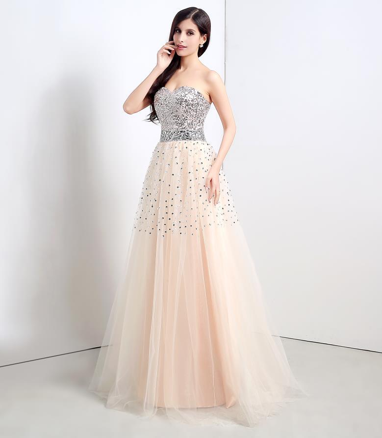 Hot sale cheap bridesmaid dresses 2015 sweetheart long for Wedding dress for sale cheap