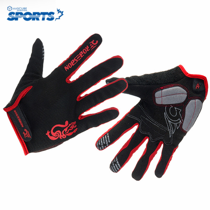 2015 Top Quality Gel Long Finger Cycling Glove for Man Woman MTB Road Glove Mountain Downhill Bike Winter Cycling Gloves(China (Mainland))