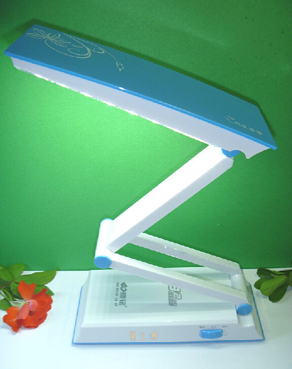 LH Portable rechargeable folding high brightness LED the study work small desk lamp that shield an eye(China (Mainland))