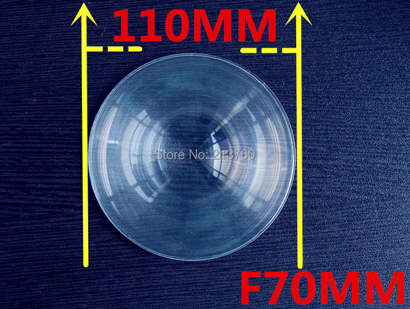 Diamètre 110 mm lentille de fresnel, Longueur focale 70 mm, Haute lumière condenseur, Lentille de Fresnel utilisé solaire concentrateur, Avion agrandir(China (Mainland))
