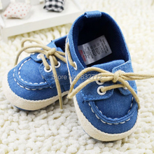 New Toddler Boy Girl Soft Sole Crib Shoes Laces Sneaker Baby Shoes PrewalkerFree Drop Shipping