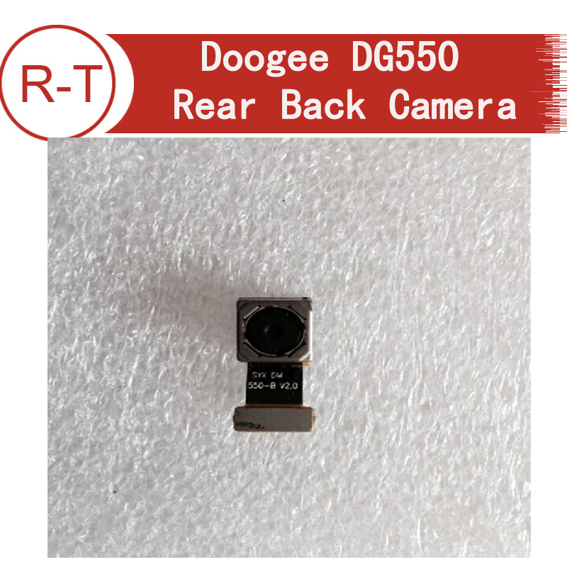 Original Doogee DG550 Rear Back Camera Module 13.0MP Flex Cable Replacement for Doogee Dagger DG550 Mobile Cell Phone