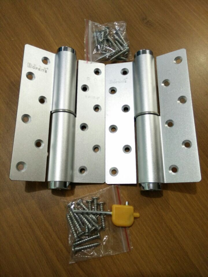 H type multifunctional concealed door hinge hydraulic buffer positioning speed adjustable dynamics closers pafeite(China (Mainland))