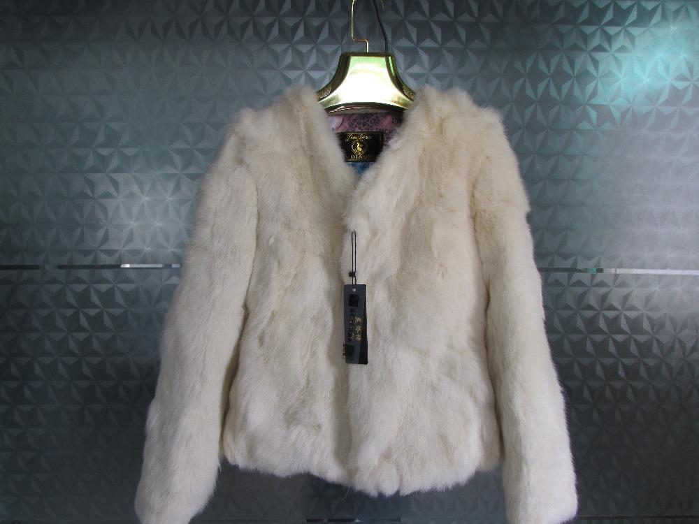 Free shipping new fashion 2015 green / white / black / genuine rabbit fur coat femaleОдежда и ак�е��уары<br><br><br>Aliexpress