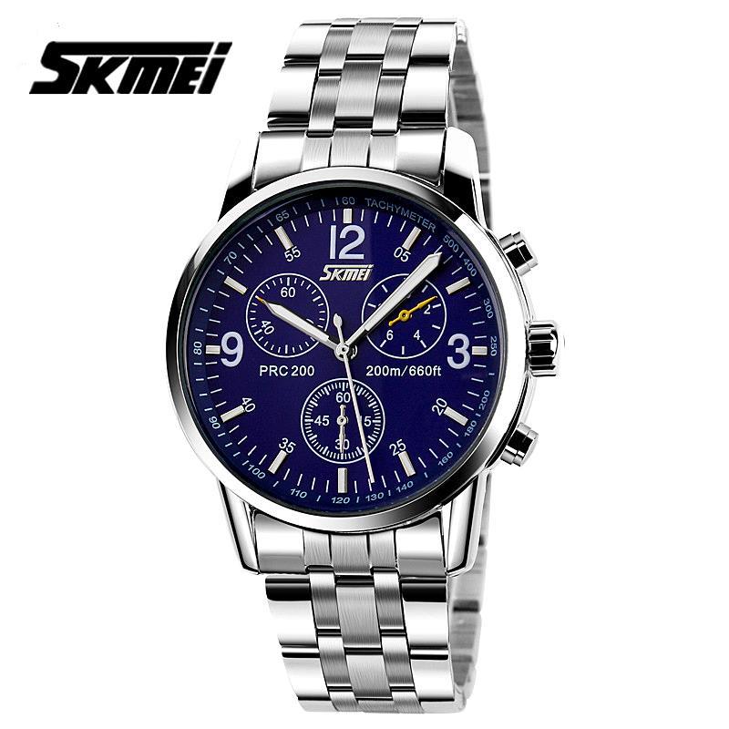 Watches men Skmei luxury brand quartz wristwatch casual Business reloj hombre dive 30m sport Clock relogio masculino 9070G