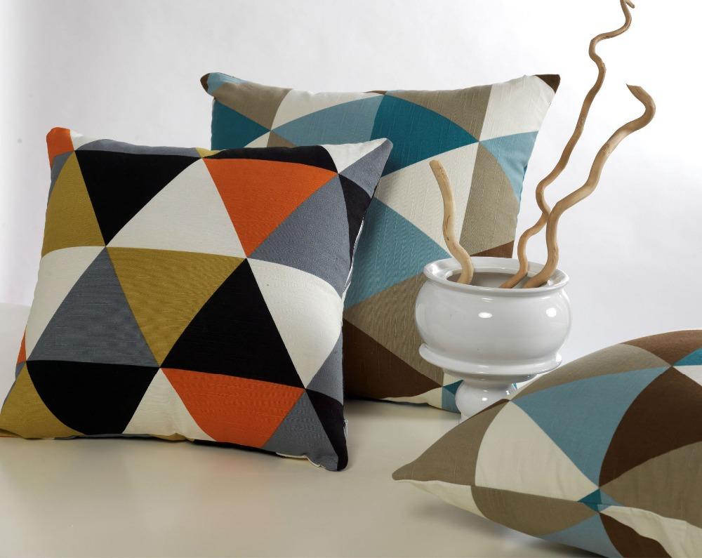 Achetez en gros triangle oreiller cas en ligne des for Housse de coussin design