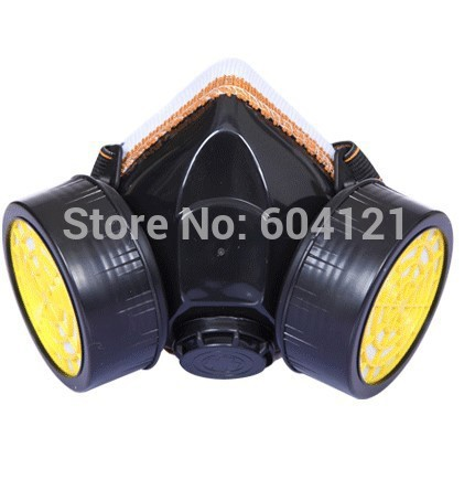 New 2014 Free Shipping High Qualty NEW Respirator Gas Mask Air Pollution Protect Dust Mask Isolation(China (Mainland))