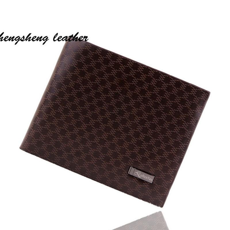 2016 Cheap Luxury Men WalletsHigh quality Famous Design Euro and American Style Wallet Men Hombres purse mujer bolsas XA440B(China (Mainland))