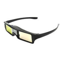 Super Quality Lithium Battery Powered Cheap DLP Link Shutter 3D Glasses for DLP 3D Ready Projector(China (Mainland))