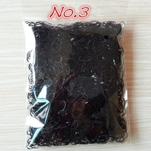 About 1000pcs bag small package 2015 New Child Baby TPU Hair Holders Rubber Bands Elastics Girl