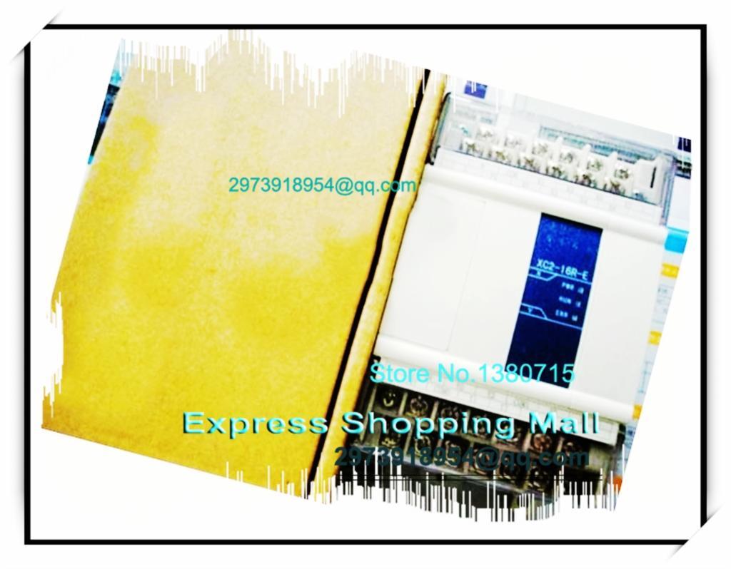 Здесь можно купить  8point NPN input 8point relay output XC2-16R-E XINJE PLC AC220V 2COM with programming cable&software  Электротехническое оборудование и материалы