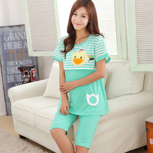 Top Selling Women Sleepwear Pyjamas Set Maternity Clothes Nursing Breast Feeding Homewear Tops And Pants AsianSize L-2XL