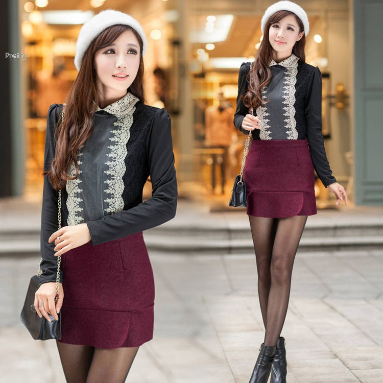 2015 New Fashion Women Casual Sexy Lady Candy Color Solid Mini Casual Skirt OL Skirt A-line Free Shipping 41(China (Mainland))