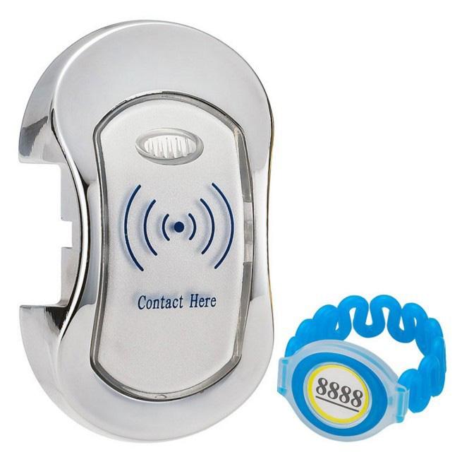 10pcs/lot Electronic RFID Locker Lock with One Management Master Card Key for Locker(China (Mainland))