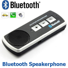 Bluetooth Handsfree Multipoint Speakerphone Car Kit With Sun Visor Clip With Car Charger(China (Mainland))