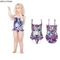Cute Girls Swimsuit one piece swimsuit for Kids 3D Print Tiger Swimming Suit Character Animal Swimwear