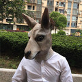 High Quality Halloween Kangaroo costume play Masks funny Latex Mask Scary Animal Masks Masquerade Props Party