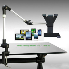"""Flexible Adjustable Tablet Desk Mount Stand Holder For iPad 1/2/3/4 Mini & 7""""-10"""" Tablet PC(China (Mainland))"""