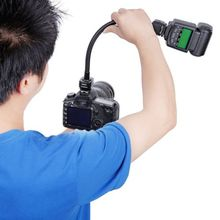 Flexible TTL Off Camera Hot Shoe Flash Sync Cord Arm Control Bracket For Canon 750d 600d 5d3 7d(China (Mainland))