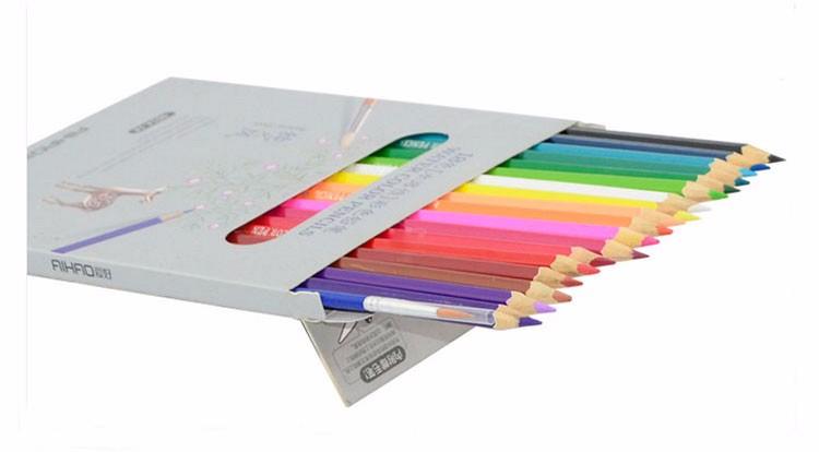 12/18/24/36/48 colors'  Water-soluble watercolor color pencils'  art Paint draw' school supplies' 9014