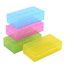 New High Quality Waterproof Battery Storage Case Box For 2Pcs 18650 4pcs 123A Randomly Free Shipping